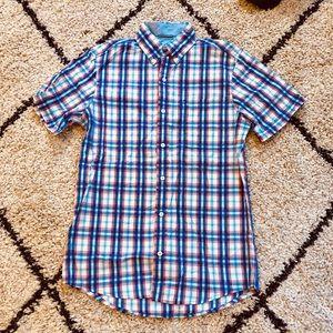 Men's Izod short sleeve button shirt